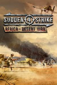 Carátula para el juego Sudden Strike 4: Africa - Desert War de Xbox 360