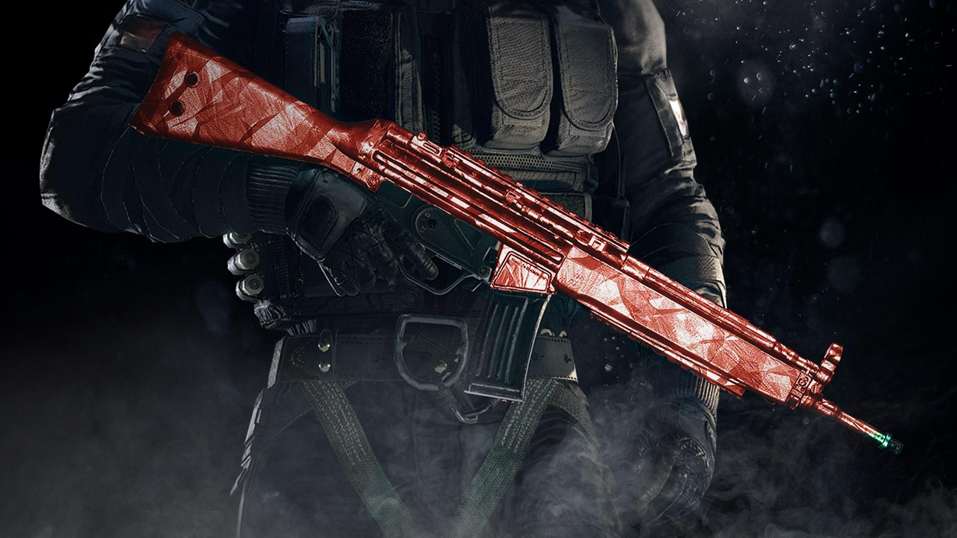 Tom Clancy's Rainbow Six Siege: Apariencia de armas Rubí