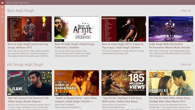Get Best OF Arijit Singh Songs - Microsoft Store