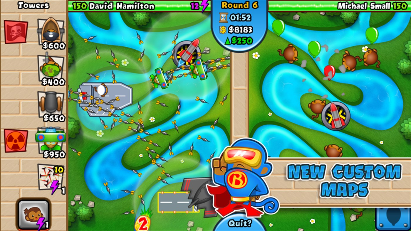 #3. Bloons TD Battles (Windows Phone)