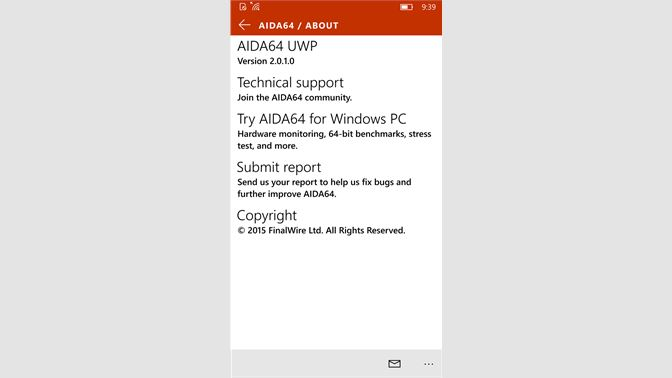 Get AIDA64 - Microsoft Store
