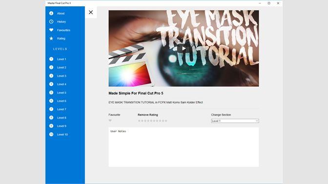 Buy Master Final Cut Pro X - Microsoft Store