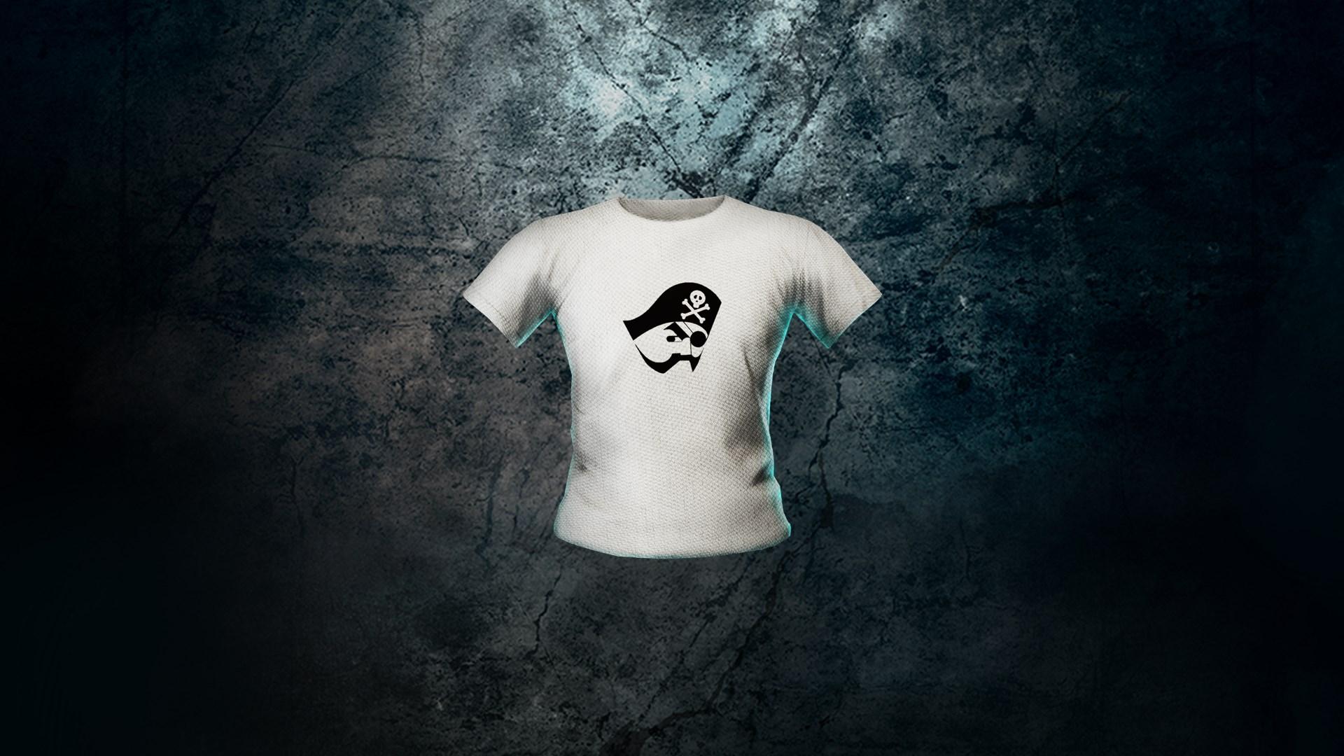 JUMP FORCE - camiseta con el logotipo pirata para tu avatar