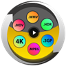 Video Converter, Compressor MP4, 3GP, MKV, MOV, AVI - All Formats Media Converter