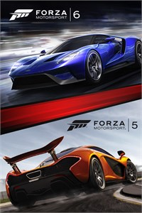 Carátula del juego Forza Motorsport 6 and Forza Motorsport 5 Bundle