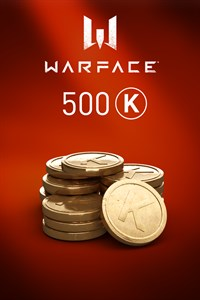 Warface - 500 Kredits