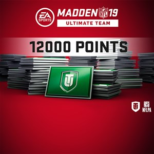 Madden NFL 19 Ultimate Team 12000 Points Pack Xbox One