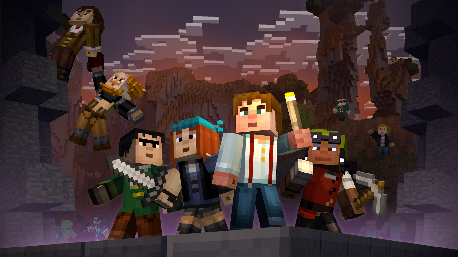 Buy Minecraft Story Mode Skin Pack Microsoft Store