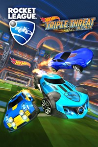 Carátula para el juego Rocket League - Hot Wheels Triple Threat DLC Pack de Xbox 360