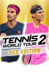 Carátula para el juego TENNIS WORLD TOUR 2 ACE EDITION de Xbox 360