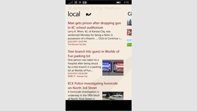 Get Kansas City News - Microsoft Store