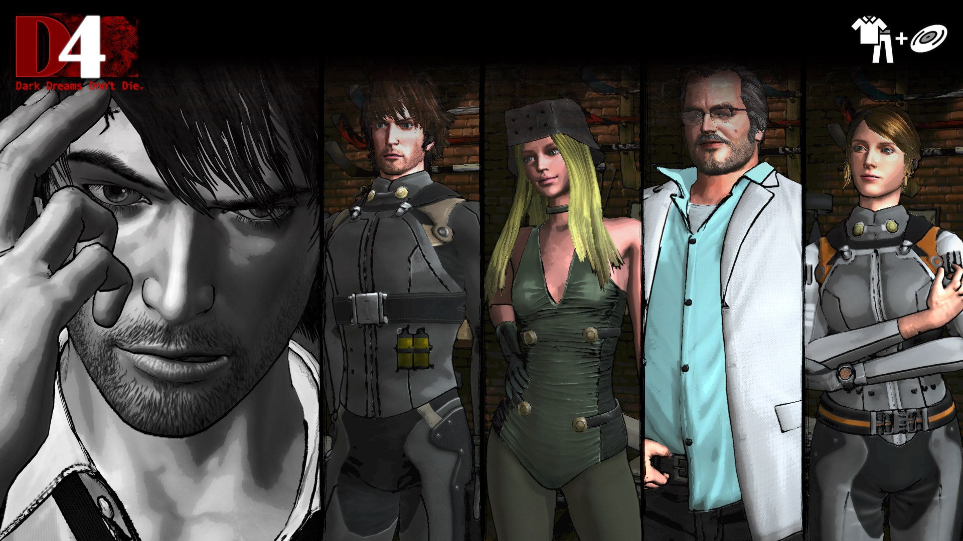 D4: Dark Dreams Don't Die - SPY FICTION Customize Pack