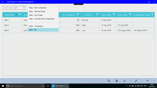 Simple Task Management screenshot 3