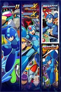 Carátula para el juego Mega Man 30th Anniversary Bundle de Xbox 360