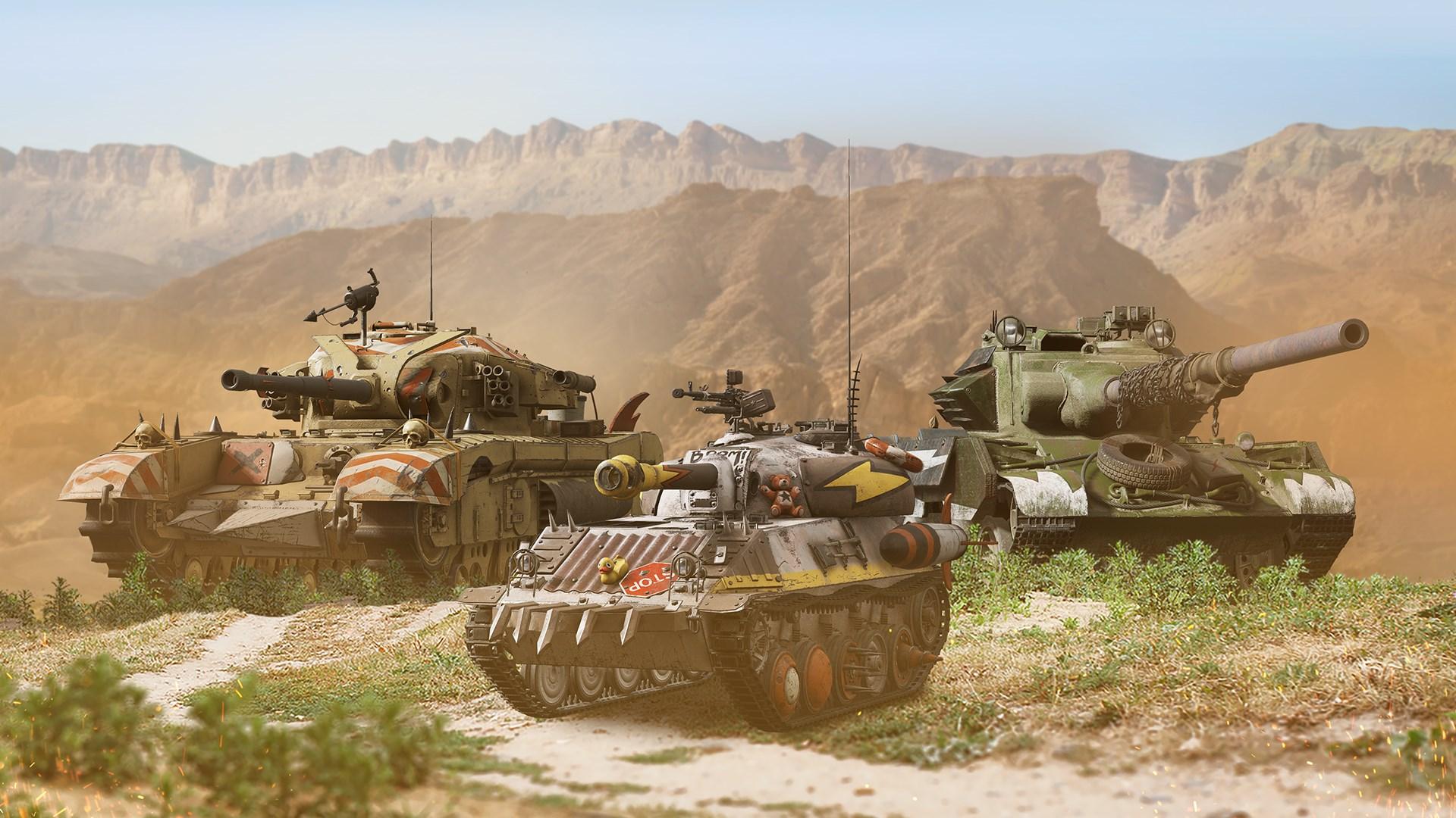 World of Tanks — Megazestaw wyrzutków