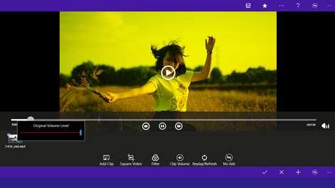 Square Video Maker,Video Editor Music - No Crop Blur