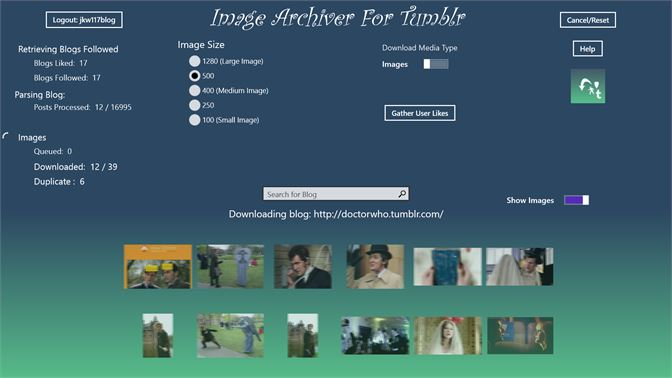 Get Image Archiver for Tumblr - Microsoft Store