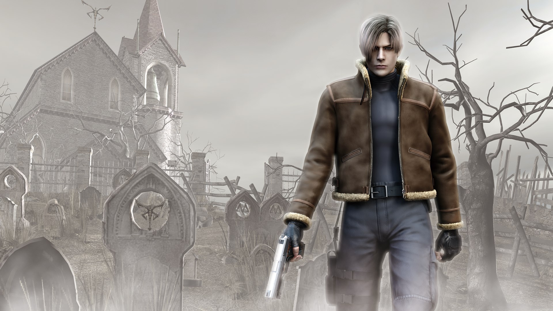 resident evil 4 merchant wallpaper