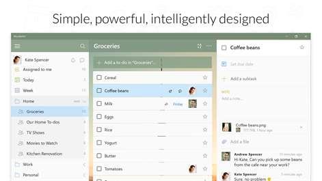 Wunderlist: To-Do List & Tasks Screenshots 2
