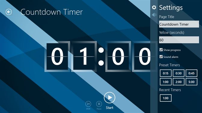 free timer download for windows 7