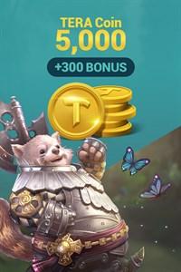[NA/EU] TERA Coin 5,000 (+300 BONUS)
