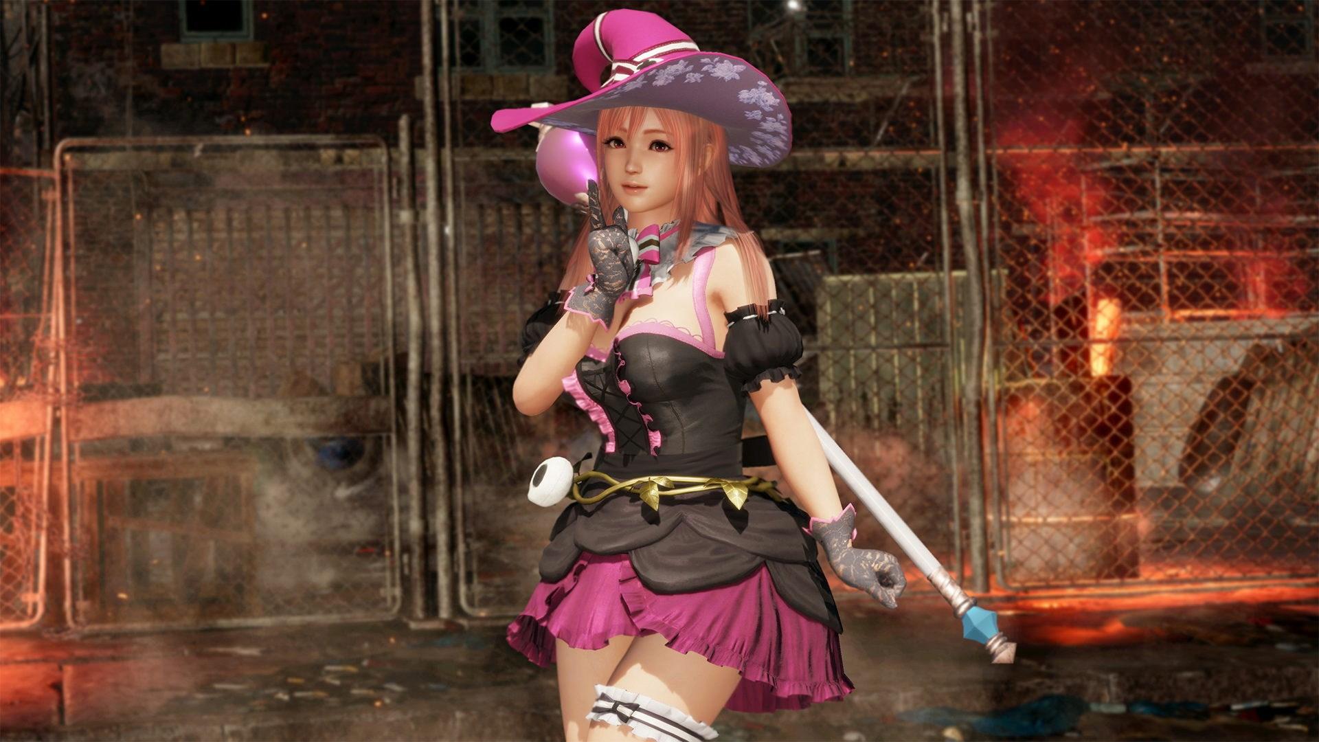 DOA6 Witch Party Costume - Honoka