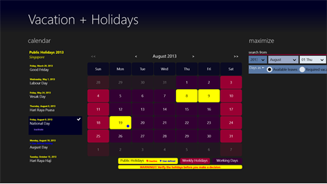 Get vacation holidays microsoft store australia screenshot welcome to vacation holidays plan your vacation with less days sciox Gallery