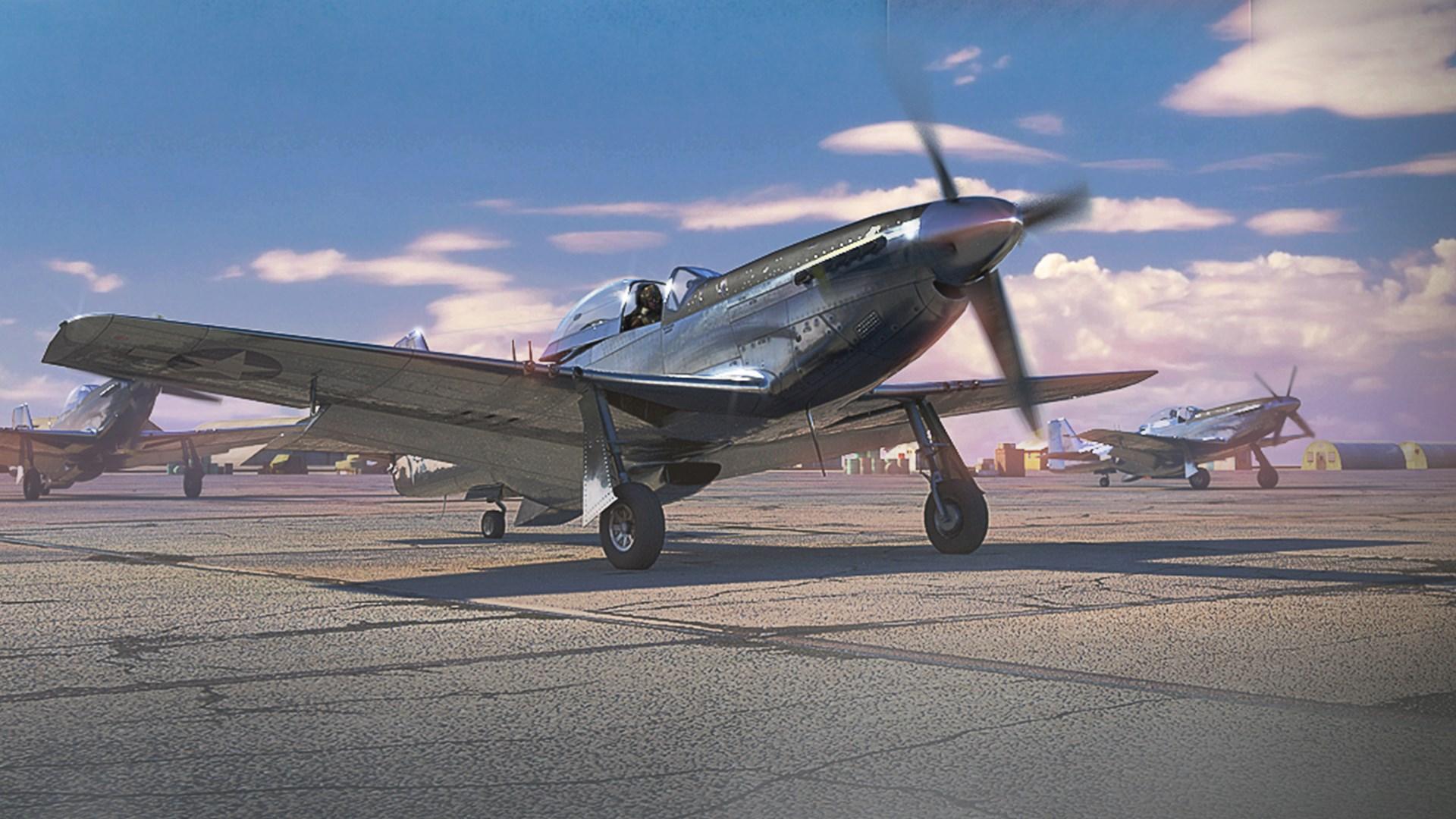 War Thunder - Mustang Pack