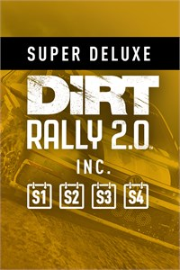 Carátula del juego DiRT Rally 2.0 Super Deluxe Edition