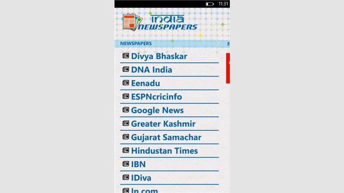 Get India Newspapers - Microsoft Store