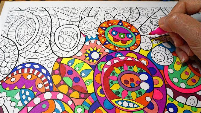 Get Coloring Book Mandala
