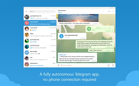 Telegram Desktop Screenshot