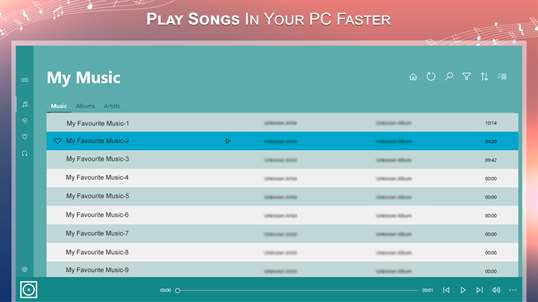Music Player - MP3 Player, Audio Player screenshot 1