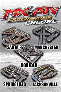 Carátula del juego Supercross Track Pack 4