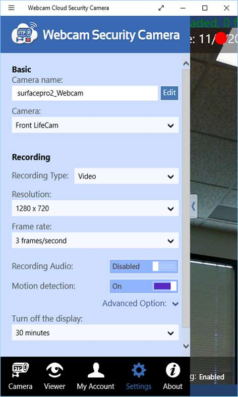 Webcam Security Camera For Windows 10 Free Download On 10