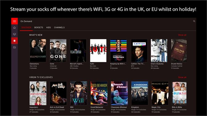Get Virgin TV Go - Microsoft Store en-GB