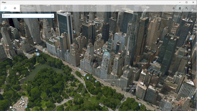 screenshot explore the world in 3d with detailed aerial imagery