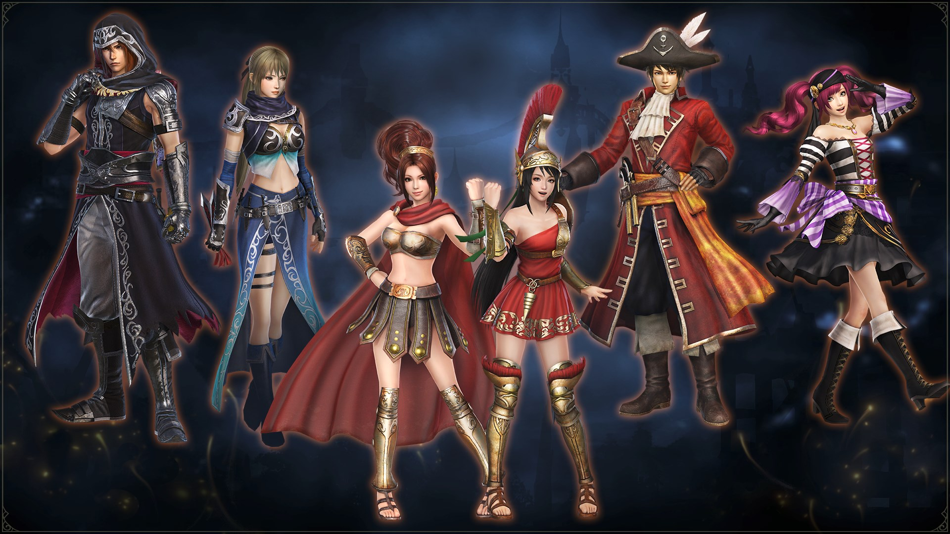 WARRIORS OROCHI 4: Special Costumes Pack 1