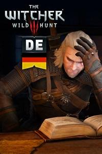 The Witcher 3: Wild Hunt -kielipaketti (DE)