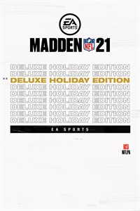 Madden NFL 21 Deluxe Holiday Edition Xbox One & Xbox Series X|S