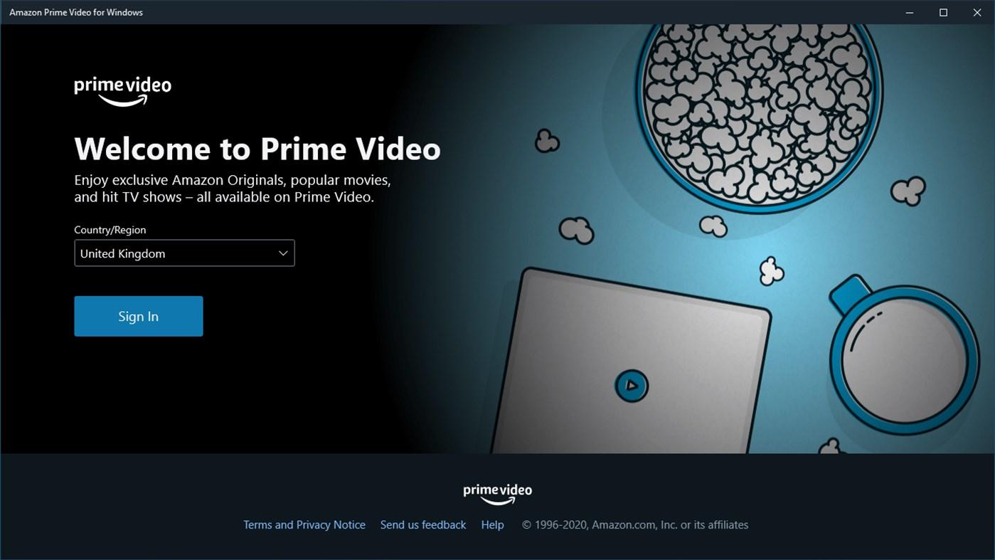 Amazon Prime Video UWP