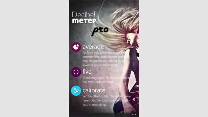 Get Decibel Meter Free - Microsoft Store