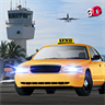 Airport Taxi Crazy Drive 3D - City Pick & Drop Sim