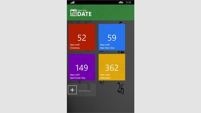 baixar save the date microsoft store pt br