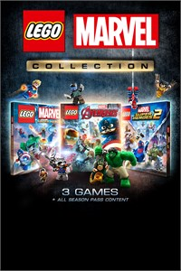 Carátula del juego LEGO Marvel Collection