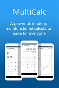 MultiCalc - Calculator, Unit Converter and More