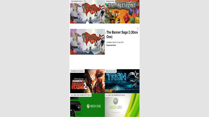 Get Games With Gold Microsoft Store