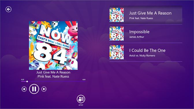 now music app
