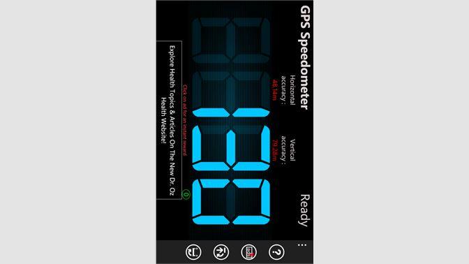 Get FREE GPS Speedometer - Microsoft Store