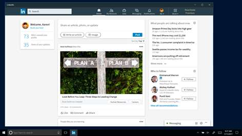 LinkedIn Screenshots 1